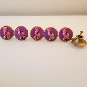 drawer knobs brass